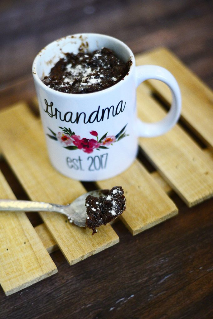 best brownie in a mug recipe