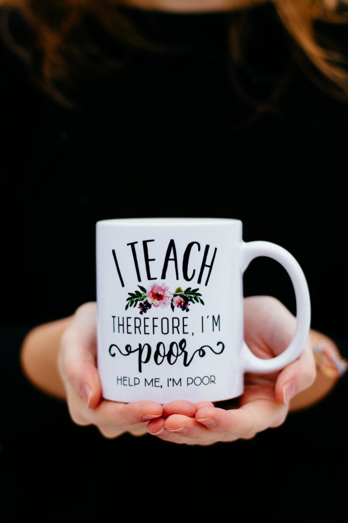 Humorous Teacher Appreciation Gift